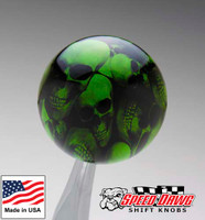 Gotta Have It Green Multi Skull Shift Knob