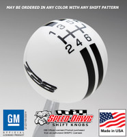 Z28 Rally Stripe Shift Knob