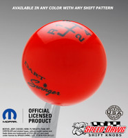 Dodge Dart Swinger Shift Knob with Pattern