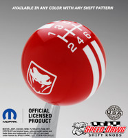 Dodge Viper 3rd 4th Gen Rally Stripe Shift Knob