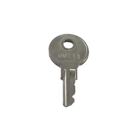 Key for DR/DRd Racks, AAS Locking Cover, DAS Backup Station Steel Cover, ERn Rack, EBDK