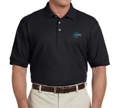 ETC Cotton Polo - Black