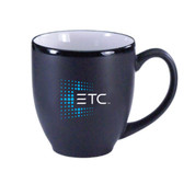 ETC Bistro Mug  - black/white