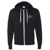 ETC French Terry Zip Hoodie - Black