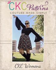Kimber's Women's Circle Dress PDF Pattern