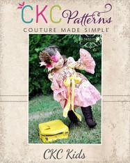 Chloe's Party Peasant Dress PDF Pattern