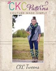 Risa's Tweens Ruched Bow Leggings PDF Pattern