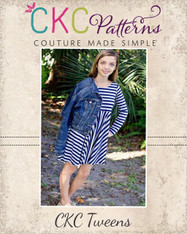 Kimber's Tween Circle Dress PDF Pattern