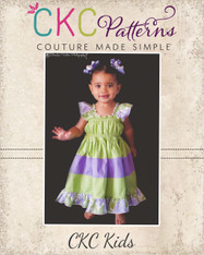 Kambria's Tiered Twirly Dress PDF Pattern
