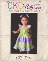 Kambria's Tiered Twirly Dress PDF Pattern