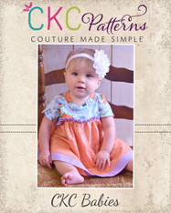 Audrey's Babies Knit and Woven Dress and Top PDF Pattern