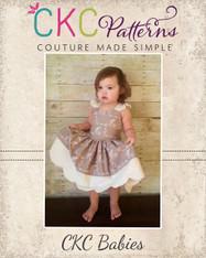 LaRae's Babies Scalloped Dress & Top PDF Pattern