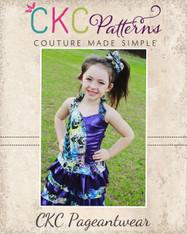 Gracelynn's Colorblock Pageant Bodice PDF Pattern