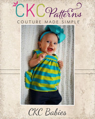 Justice's Babies Knit Dress, and Top PDF Pattern