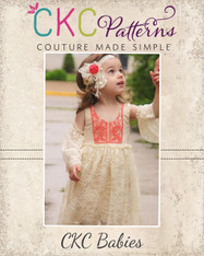 Gypsy's Baby Boho Dress and Top PDF Pattern