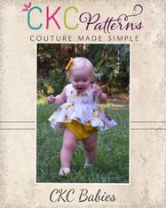 Halle's Baby Romper PDF Pattern
