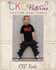 Isaac's Dino and Roo Joggers PDF Pattern