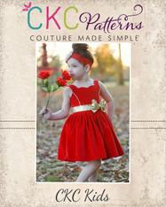 Pamela's Princess Dress PDF Pattern