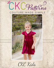 Annette's Pleated Tunic and Dress Sizes 2T to 14 Girls PDF Pattern