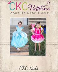 Wilhelmina's Transformation Dress PDF Pattern