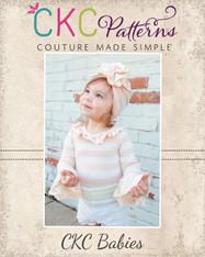 Nella's Knit Baby Hat PDF Pattern