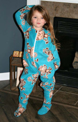 Colbie S Kid S Cozy Footed Jammies Pdf Pattern