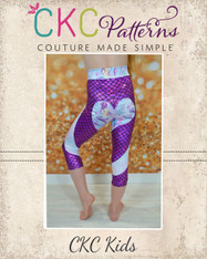Bambi's Shapewear Pants, Shorts, and Capris Sizes 2T to 14 Girls PDF Pattern