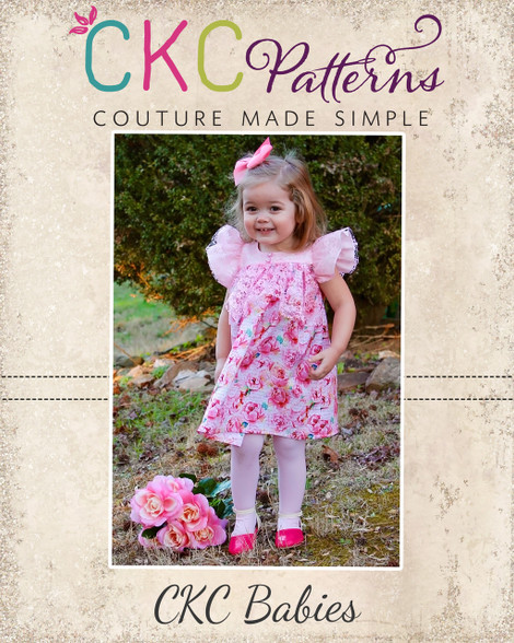 Trixie's Babies Flutter Ruffle Dress And Tunic PDF Pattern Fascinating Ckc Patterns