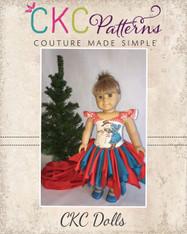 Berlin's Lace Dress Doll Sizes PDF Pattern