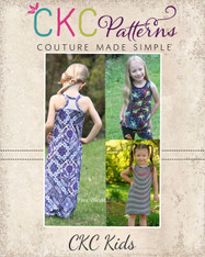 Davina's Racerback Tank Top, Dress, and Maxi PDF Pattern