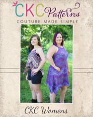Meryl's Women's Funky Hem Crop, Top & Dress PDF Pattern