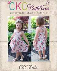 Lynlee's Top, Dress, and Maxi PDF Pattern