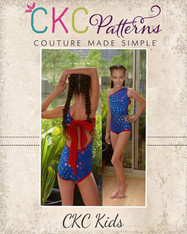 Amirah's Amazing Swimsuit Sizes 2T to 14 Girls PDF Pattern