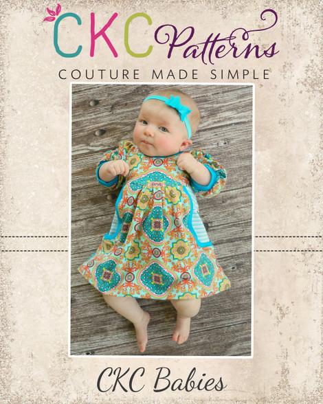 Paxlynns Baby Pocket Knit Dress Pdf Pattern