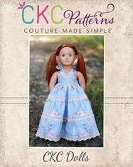 Briar's Beautiful Top, Dress, Maxi and Romper Doll Sizes PDF Pattern