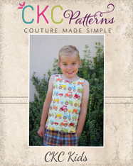 Daniel's Reversible Woven Tank Top PDF Pattern