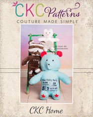 Minny's Memorial Bear PDF Pattern