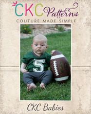 Jerry's Baby Football Jersey PDF Pattern
