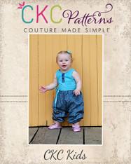 Berkley's Baby Beautiful Pleated Dress and Romper PDF Pattern