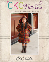 Carlyn's Fancy Flair Coat Sizes 2T to 14 Girls  PDF Pattern