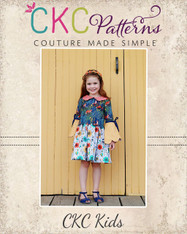 Talise's Two-Piece Scallop Dress PDF Pattern