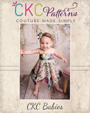 Effy's Baby Tunic, Dress, and Romper PDF Pattern