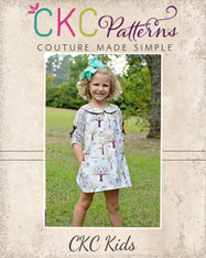Portlyn's Front Pleat Top & Dress PDF Pattern