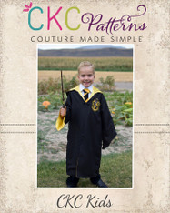 Malcolm's Character Robe for Girls and Boys PDF Pattern