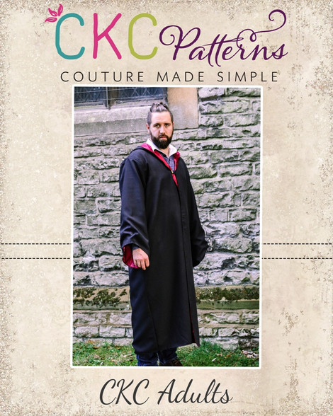 Malcolms Adult Character Robe Pdf Pattern
