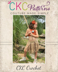 Kaiulani's Grass Skirt and Bonus Bikini Top PDF Pattern