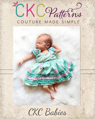 Xin's Baby Extraordinary Ruffle Dress PDF Pattern