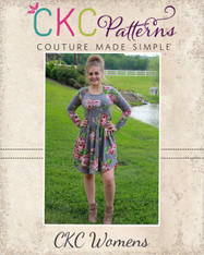 Deborah's Women's Classic Knit Top and Dress PDF Pattern