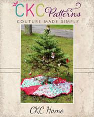 Claus' Christmas Tree Skirt PDF Pattern
