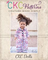 Orion's Pajama Set Doll Size PDF Pattern